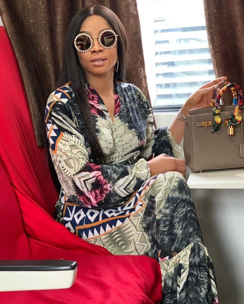 ''If anything happens to my client you will be held responsible'' - Lawyer to lady Toke Makinwa placed N500k bounty on says