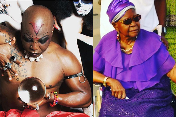 Charly Boy makes some shocking revelation about his late mum
