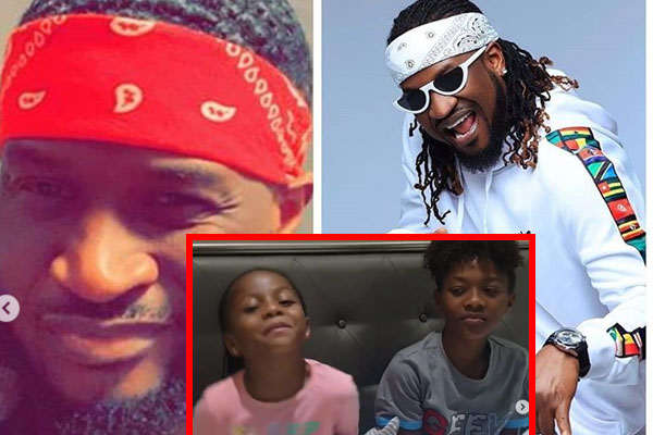 Check out Peter Okoye's kids beautiful birthday message to PSquare.