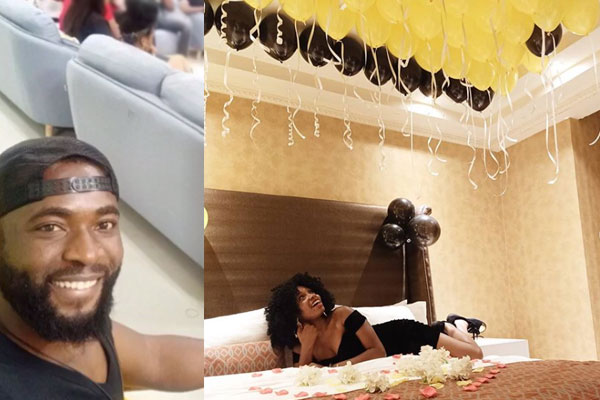 Gedoni showers his lover, Khafi with the sweetest words and an early birthday surprise.