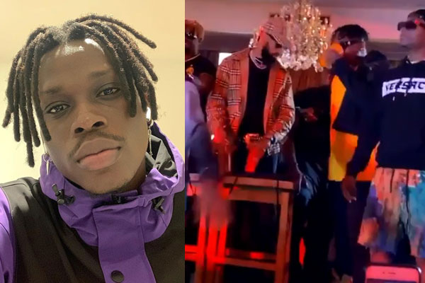 Wizkid, Phyno and Olamide were all present at FireBoy's album listening party