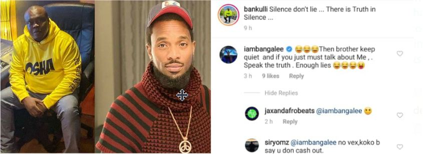 'Brother keep quiet and stop talking about me' – Dbanj calls out former manager, Bankulli and he responds