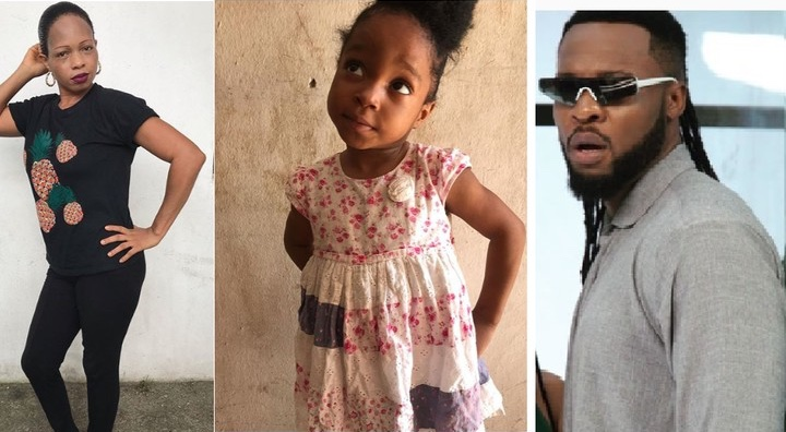 Nigerian lady claims singer Flavor N'abania is the father of her child