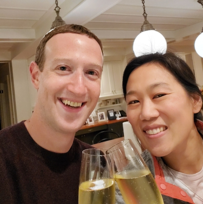 Mark Zuckerberg celebrates the anniversary of his first date with wife Priscilla Chan