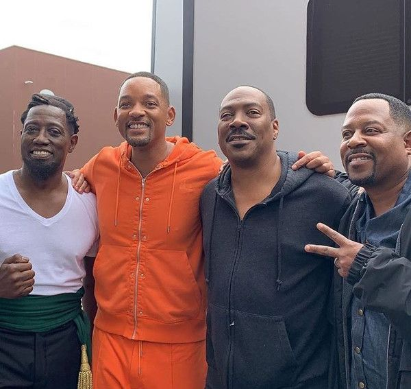 Will Smith, Eddie Murphy are filming 'Bad Boys 3' and 'Coming to America 2' inside Tyler Perry's New Studio