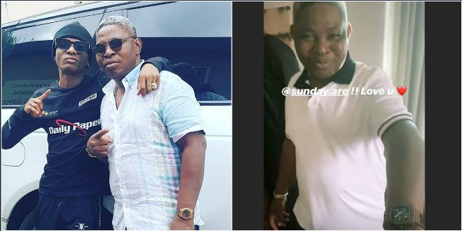 SUNDAY ARE GETS A RICHARD MILLE WRIST WATCH ON HIS BIRTHDAY FROM WIZKID