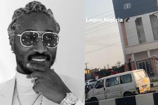 American rapper, Future arrives Nigeria ahead of his show