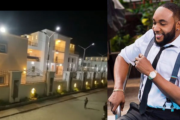 Check out the palatial residence Kcee gift himself as a Chrismas gift