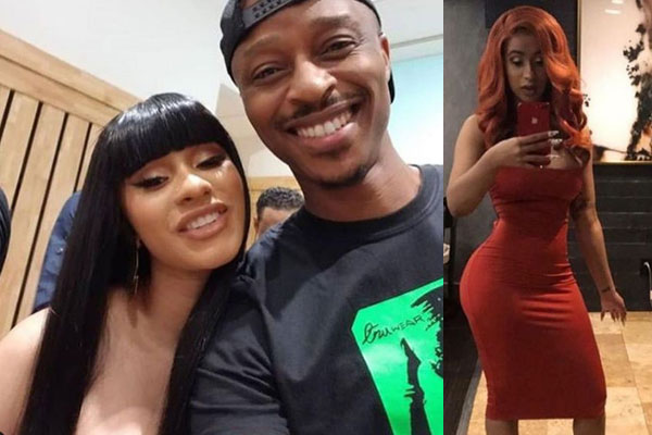 Cardi B excited to meet the guy that mimics her