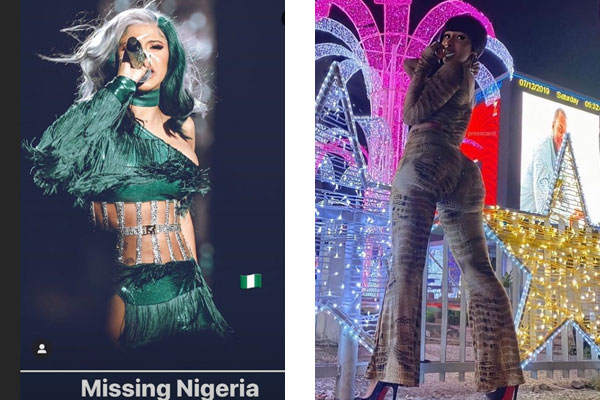 cardib missing Nigeria