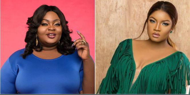 Eniola Badmus reacts over Omotola Jalade's interview on her TV (video)