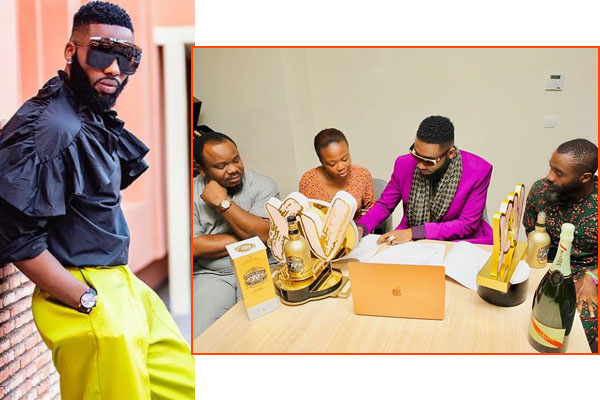 Celebrity stylist, Swanky Jerry signs new endorsement deal