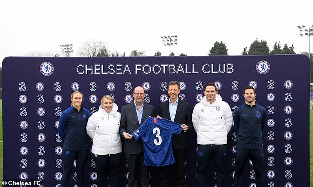 Chelsea agree new shirt sponsorship deal with mobile phone network Three, and troll fans.