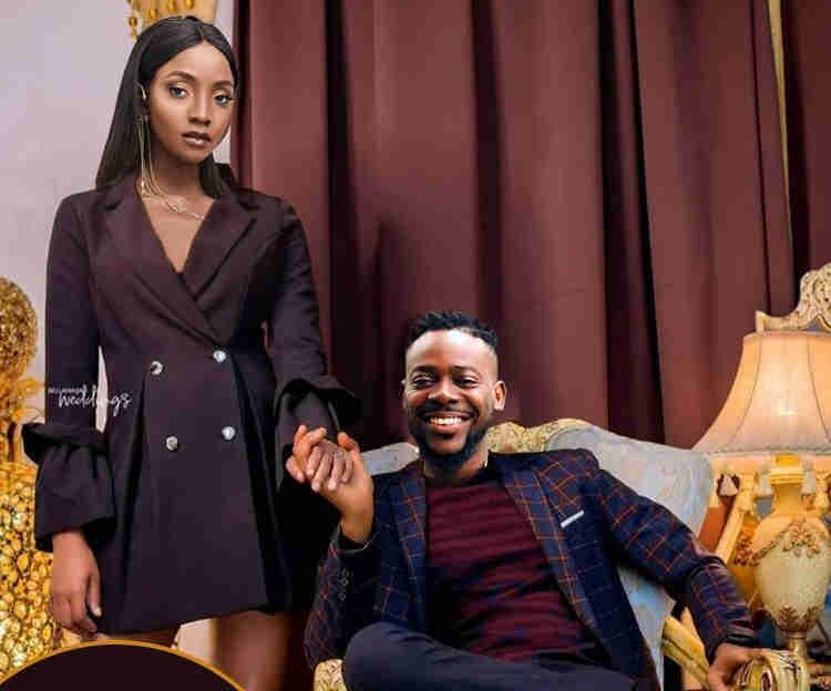 Adekunle Gold celebrates Simi with sweet words on their 1st wedding anniversary