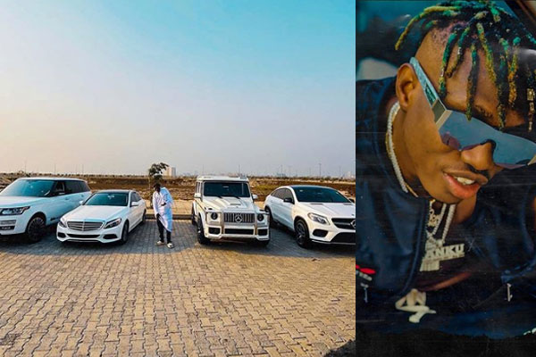 zlatan ibile shows off his cars