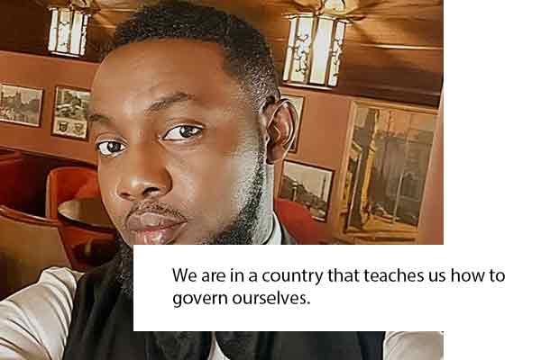 AyComedian: We are in a country that teaches us how to govern ourselves.