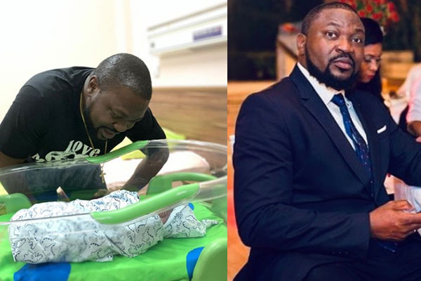 Comedian Buchi, welcomes newborn baby boy