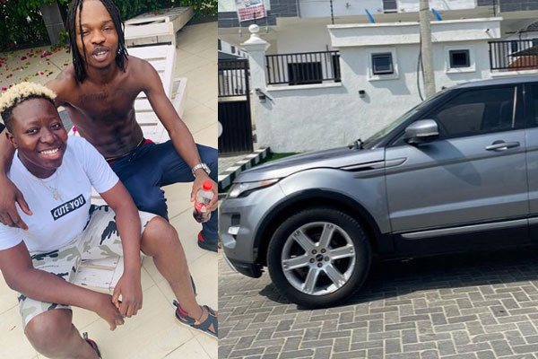 Naira Marley gifts his friend and talent manager, Seyi a new range rover Evoque on her birthday