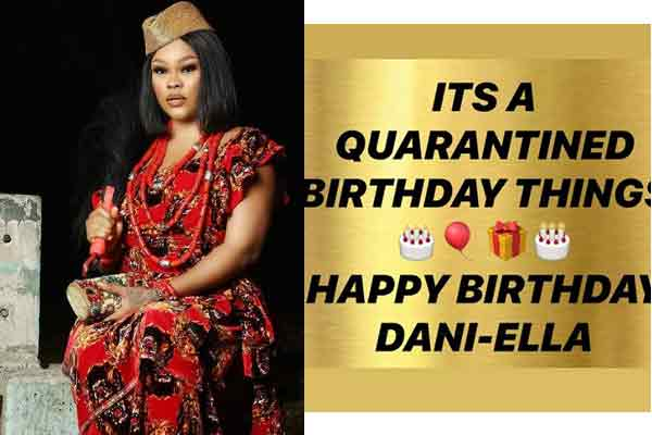 Nollywood actress –  Daniella Okeke turns a year older today