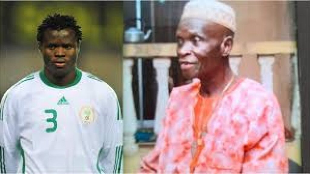 Former Super Eagles defender Taye Taiwo loses dad