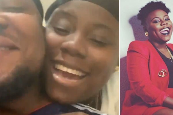 Teni fondles mystery man as she sings, shares video.