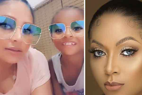 covid-19: Lola Okoye and her daughter Aliona sing Yoruba song during isolation