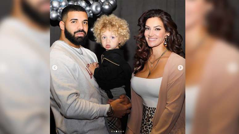 Drake shares first pictures of his toddler son, Adonis, on Instagram