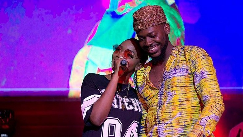 Adekunle Gold and Simi, jokes over which of their genes their unborn child should inherit