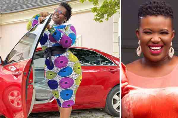 Comedienne real warri pikin acquires a new car