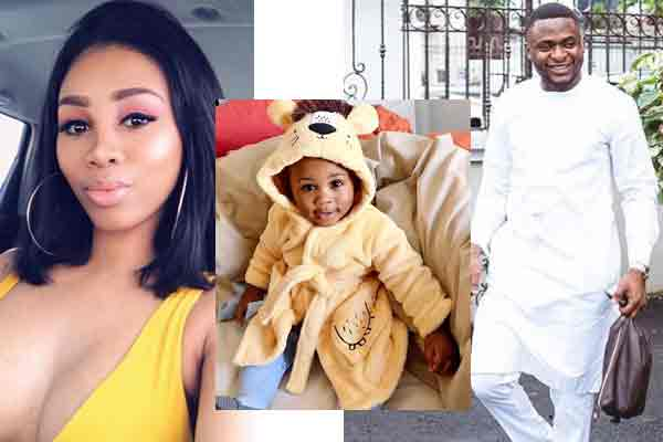 Ubi franklin's S.A baby mama drags him on IG