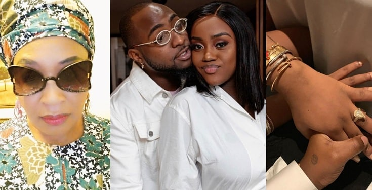 Chioma's engagement ring to Davido has been taken away from her – Kemi Olunloyo