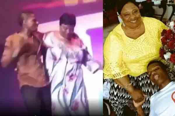 Check out throwback video of Wizkid and his mum dancing on stage