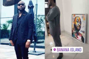 Davido moves to Banana Island