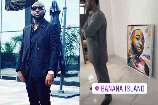 Davido moves to Banana Island
