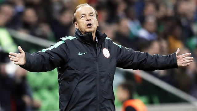 NFF renews Rohr's contract, says Nigeria must win next AFCON