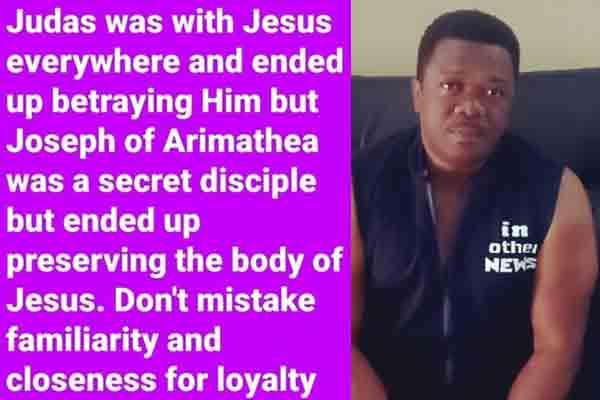 Nollywood actor, Kevin Ikeduba says…