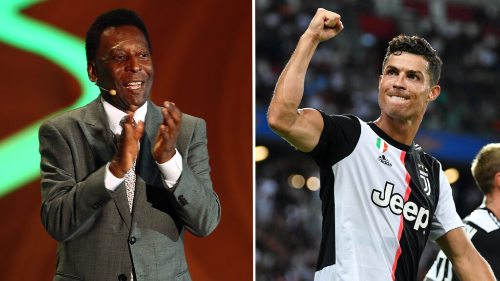 Cristiano Ronaldo plans to overtake Pele's goalscoring record and become greatest of all time- Gary Neville
