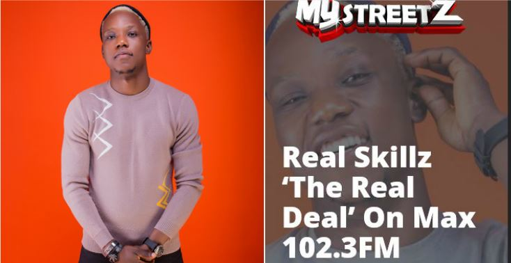 Real Skillz 'The Real Deal' On Max 102.3FM