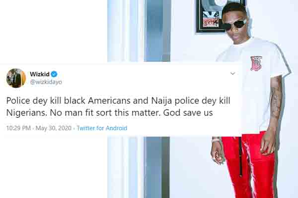 Wizkid wades On The Matter