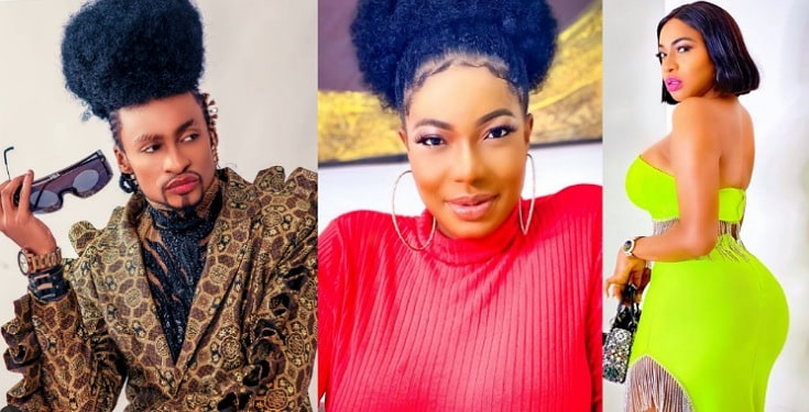 """""""God Took All Your Problems And Put Them Behind You"""" – Denrele Edun Commends Chika Ike's Physique"""