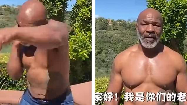 """""""I'm ready to fight Evander Holyfield"""" – Mike Tyson."""