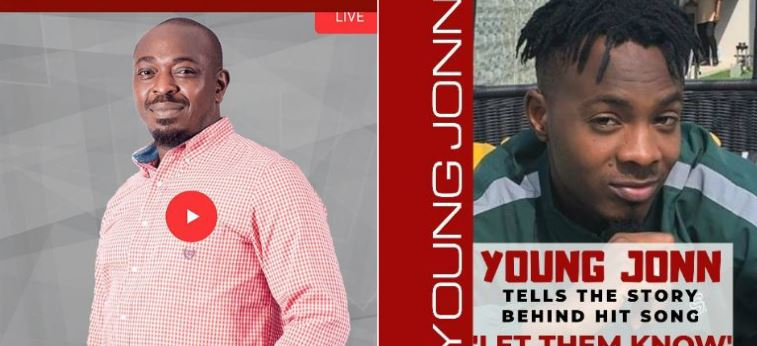 Young John gives shoutout to Tiwa Savage as he tells the story behind his latest hit song 'Let Them Know'