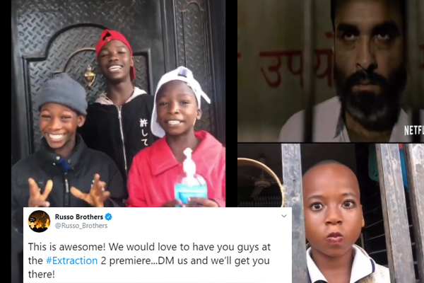 Hollywood 'Extraction' producers invite Ikorodu Bois to world premiere in United States