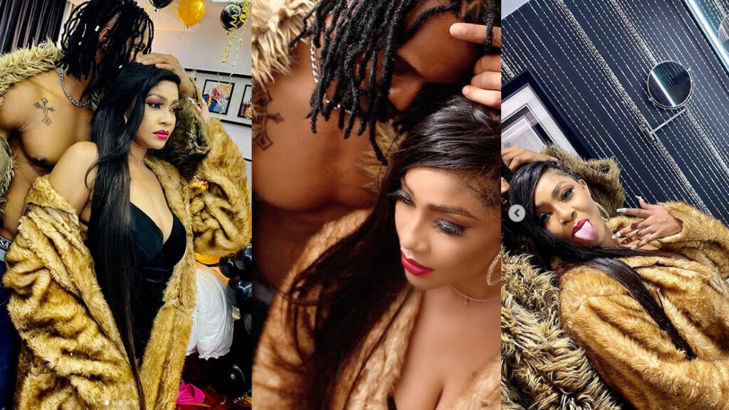 Actress Angela Okorie finds love again, share loved-up photos with new man