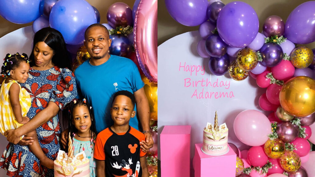 NaetoC and wife Nicole celebrates their daughter, Adarema's 6th birthday