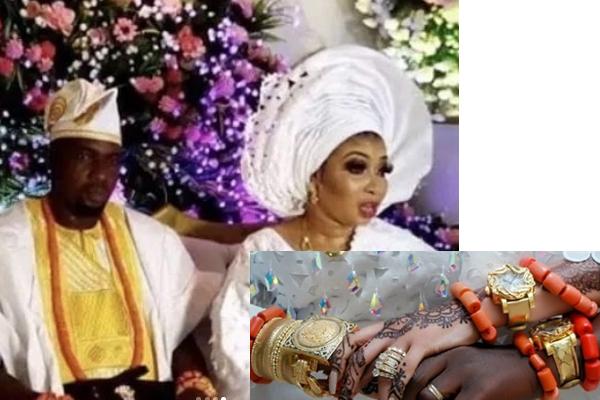 check out photos from actress, lizzy anjorin secret wedding