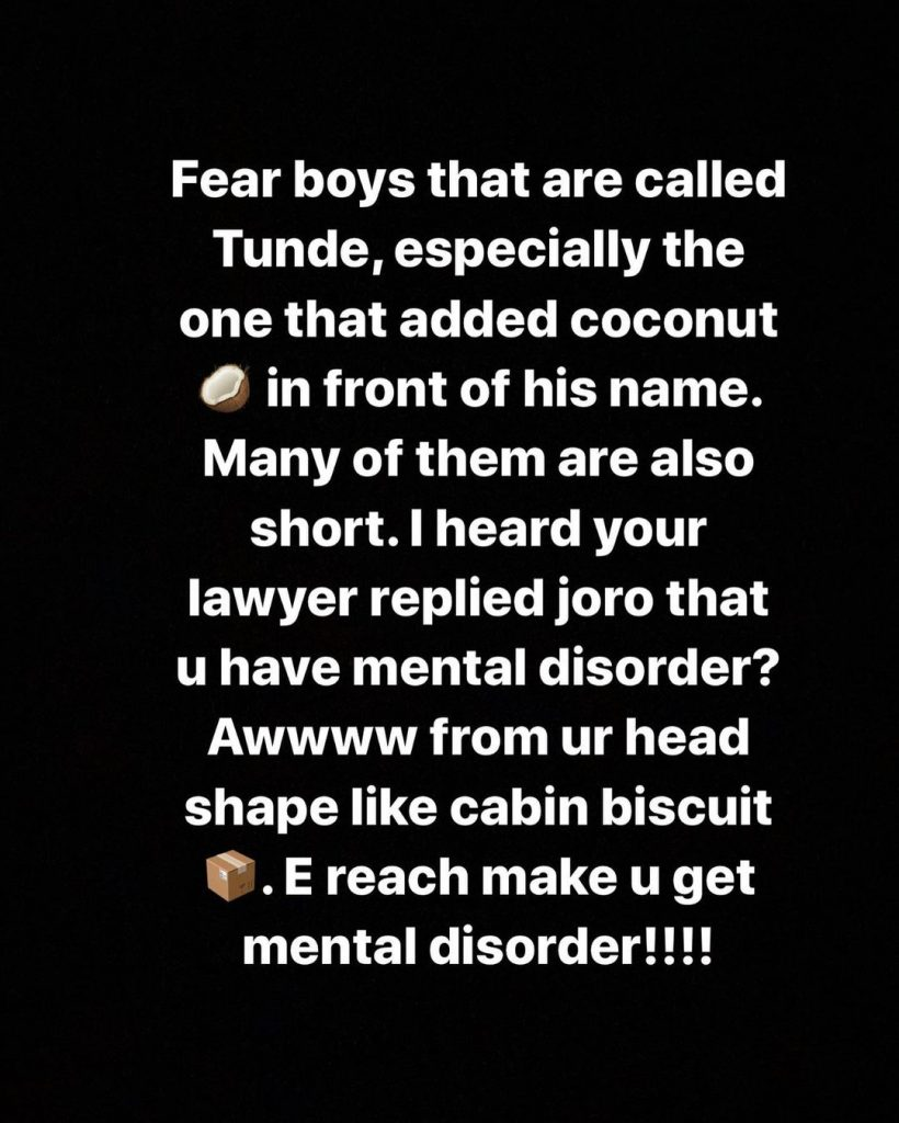Bobrisky Hits Hard On Tunde Ednut In His Ongoing Fight With Joro 102 3 Max Fm Iceprince, tunde ednut, lynxxx, davido, jjc. bobrisky hits hard on tunde ednut in